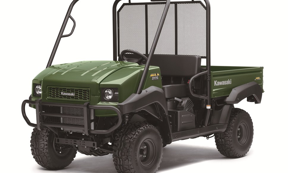 Kawasaki Mule and John Deere Gator hire from £250 a week.