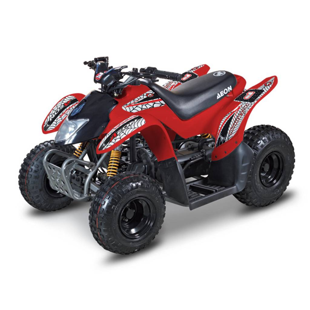 Aeon Mini kolt 50 Kids Quad Bike - Available In Red And White