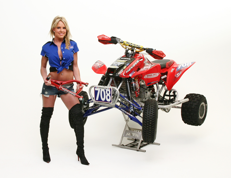 ... Ground Clearance Long Travel A-arms in Red for Honda TRX450R/ER Enduro