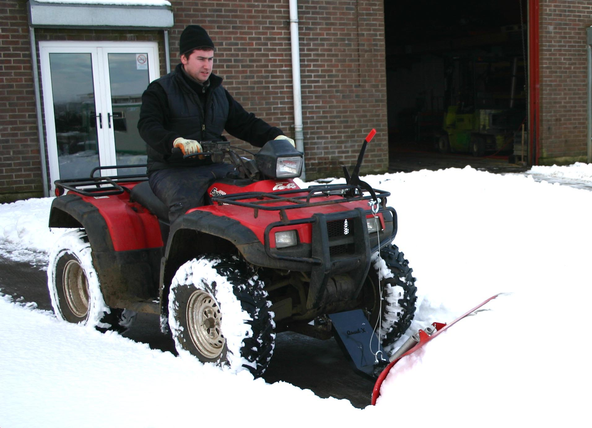 Quad X Snow Plough 85 Spb Atv Product Adjustable Angle Super